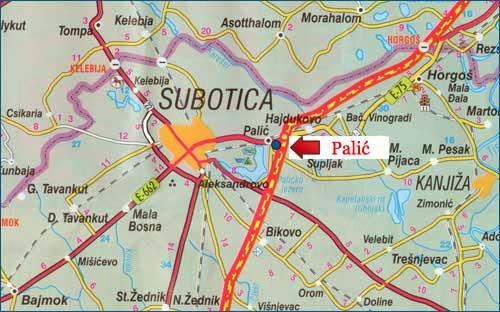 palic-mapa